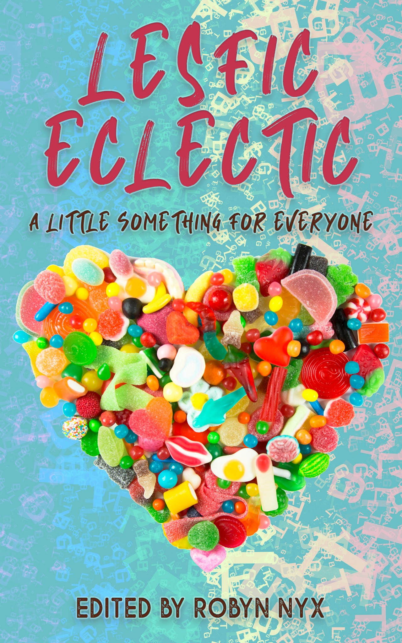 Lesfic Eclectic Book Cover